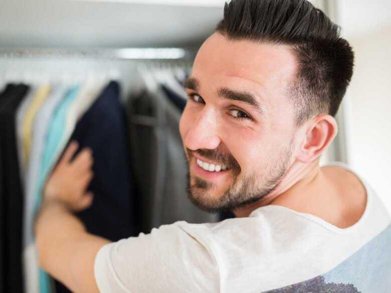 Wybieranie ubrania do pracy