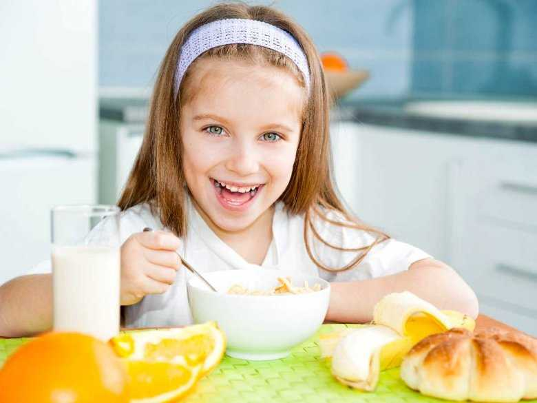Śniadanie dziecka