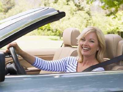 """Z cyklu """"Kobieta za kółkiem""""- wypadek drogowy"""