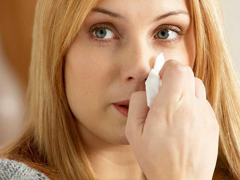 Katar, przeziębienie