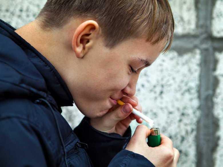 Nałóg palenia u młodocianych