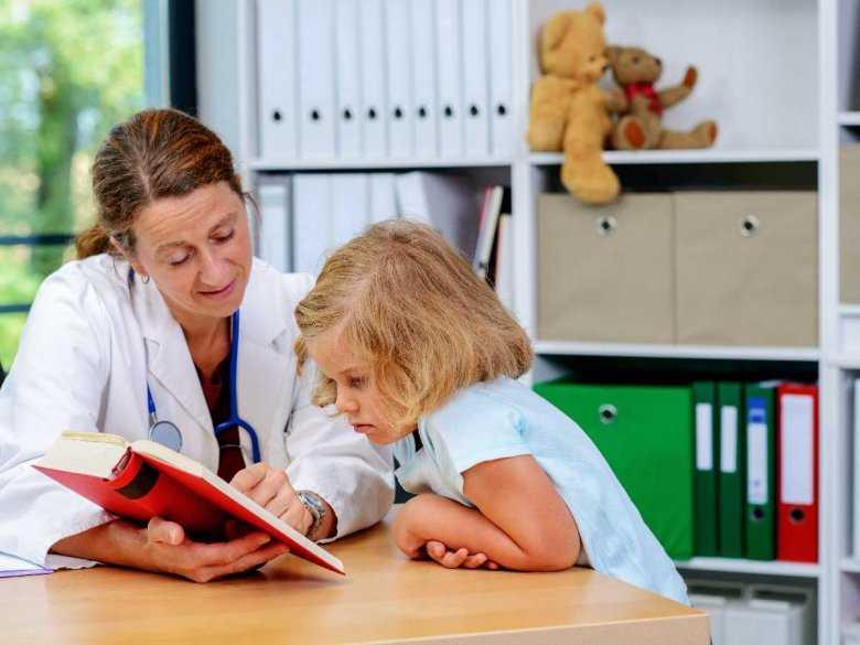 Wizyta z dzieckiem u lekarza