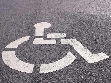 Miejsce dla osób niepełnosprawnych