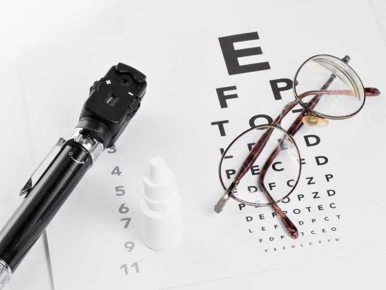 Badanie wzroku u okulisty