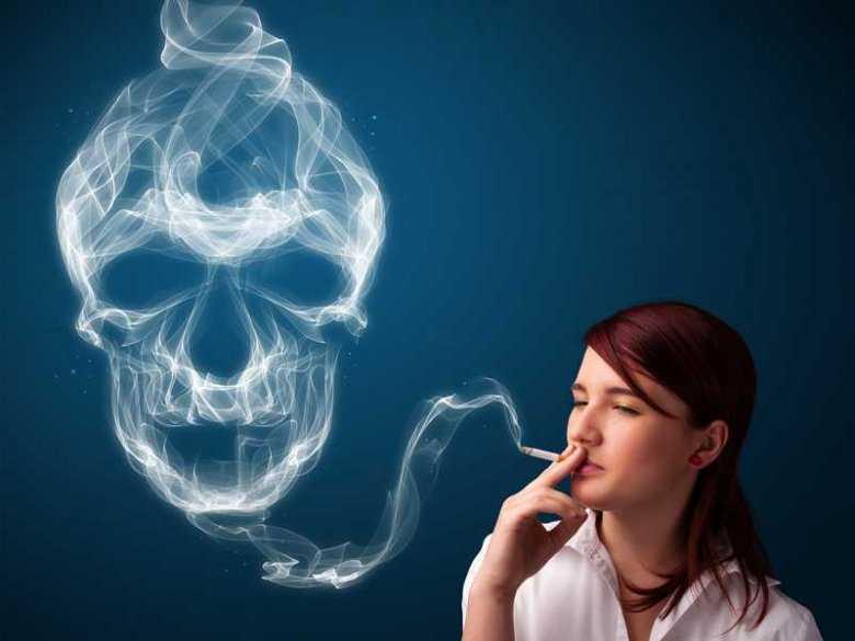 Trujący dym papierosowy