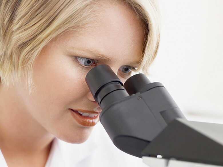 Badanie pod mikroskopem