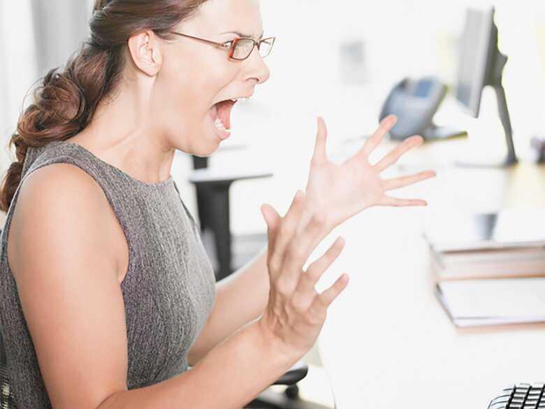 Złość, nerwy w pracy