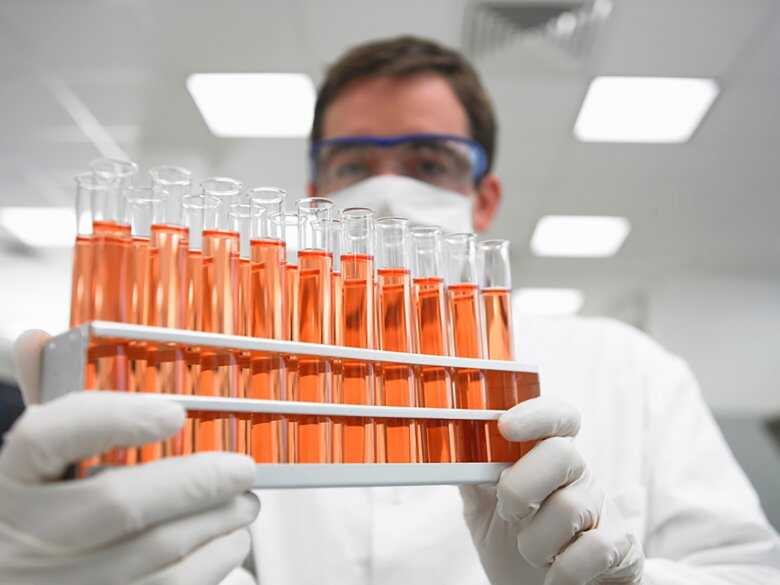 Badanie próbek w laboratorium