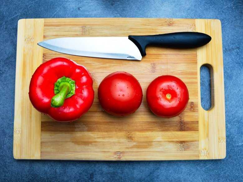 Papryka, pomidory