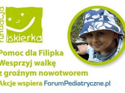 Pomoc dla Filipka Kubisia z Katowic