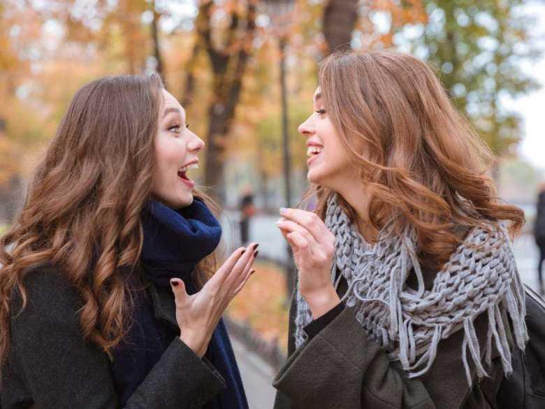 Spotkanie dwóch kobiet