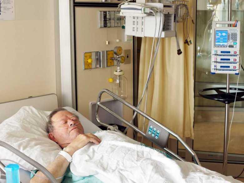 Pacjent Oddziału Intensywnej Terapii