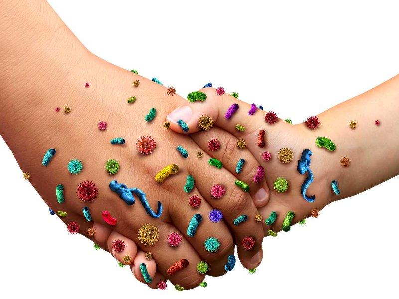 Bakterie na rękach