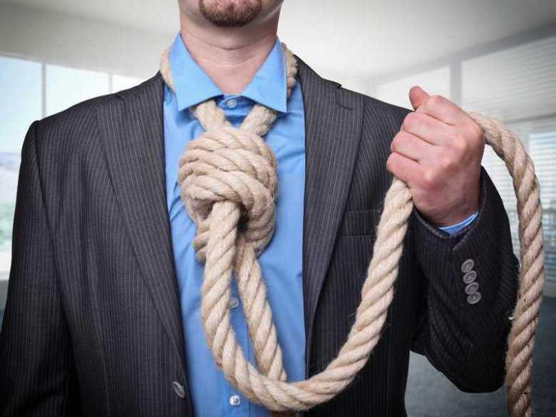 USA: coraz więcej samobójstw przez uduszenie