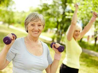 Aktywnością w menopauzę