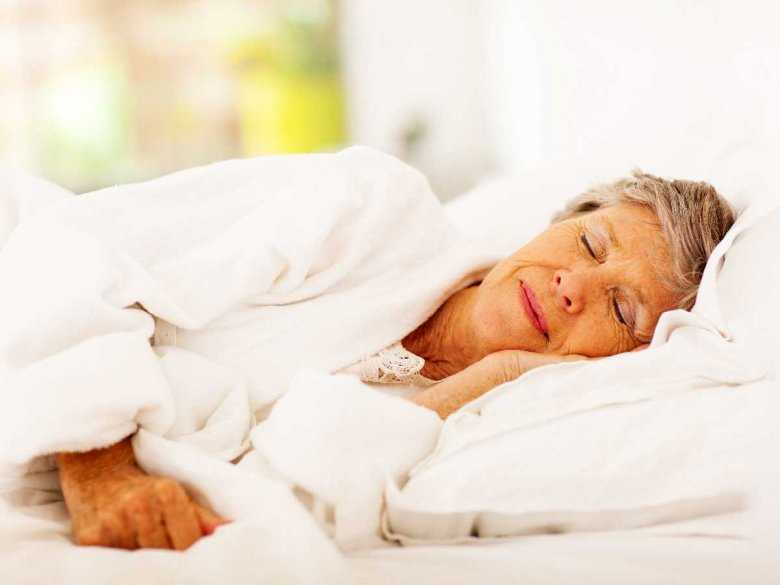 Wiek a problemy ze snem