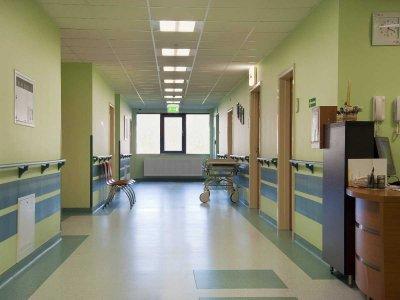 Pacjent w szpitalu psychiatrycznym