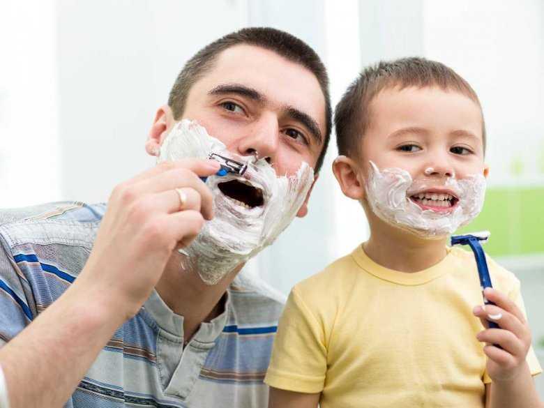 Wspólne spędzanie czsu ojca z synem