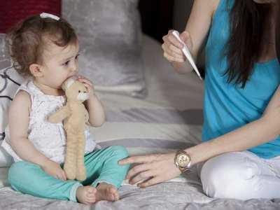 Gorączka u dziecka - jak pomóc dziecku