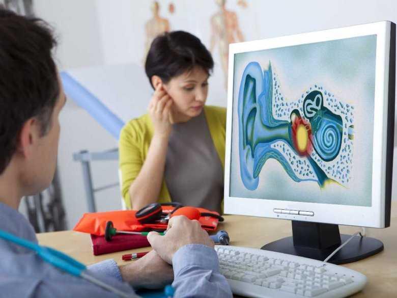 Badanie słuchu w gabinecie laryngologa
