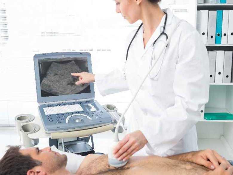 Wykonanywanie badania USG serca