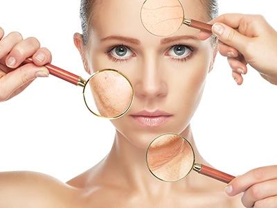 Problemy skóry twarzy