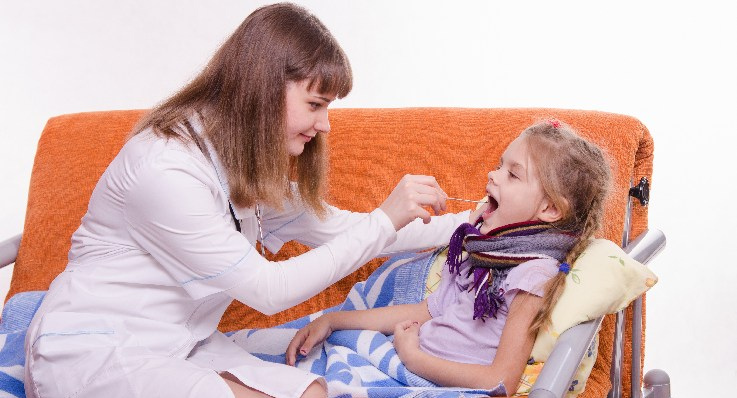 Przewlekłe zapalenie gardła u dzieci