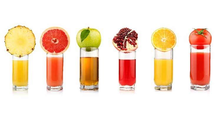 Soki alternatywą dla owoców i warzyw