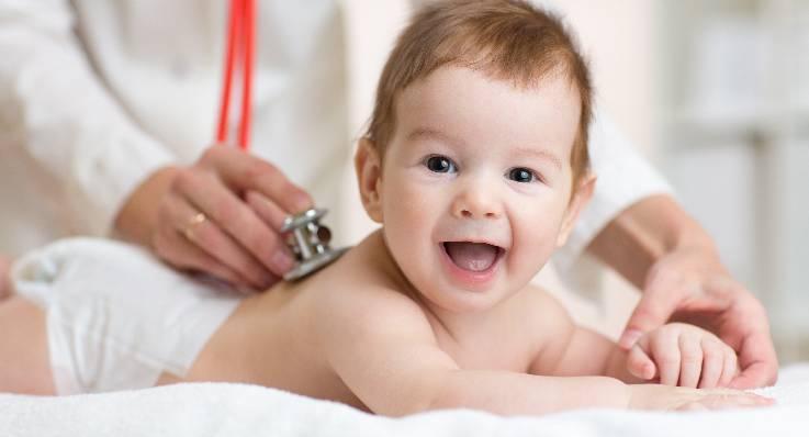 Pierwszy uśmiech u dziecka